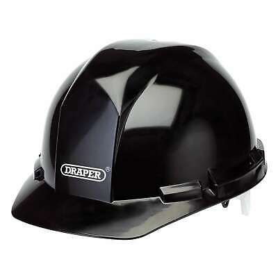 Draper Black Safety Helmet With Fully Adjustable harness