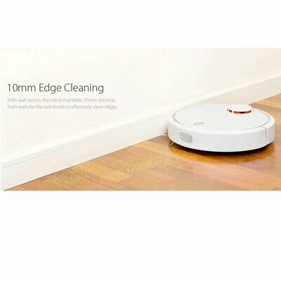 White Round 360 Degree Highly Intelligent Home Cleaning Device Vacume Cleaner ★★