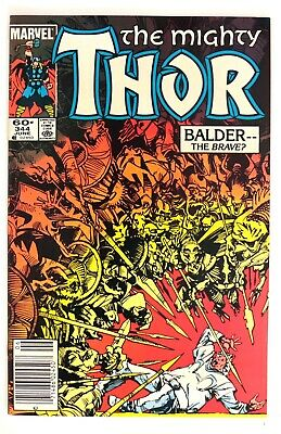 P869. THOR #344 Marvel 8.0 VF (1984) 1st Appearance MALEKITH War of the Realms
