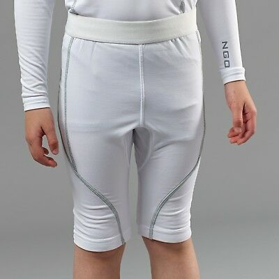 CLEARANCE New Kids NGOI Core Control Baselayer Shorts White x 57.