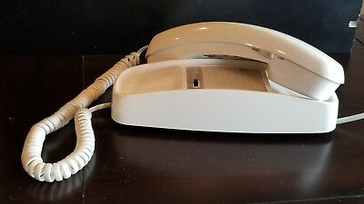 Late '80s Vintage Push Button Telephone Trimline 210 Corded, AT&T, desk or wall