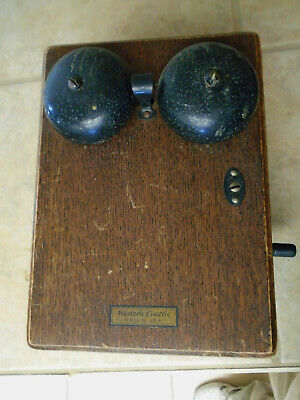 Antique Telephone Western Electric 315H top box with mounting holes