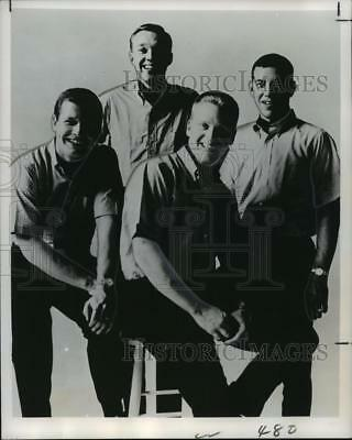 1968 Press Photo The Brothers Four, vocalists of recording fame - noo01330