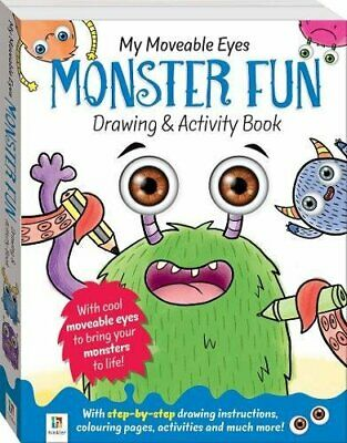 My Moveable Eyes Monster Fun Drawing and Activity Book.