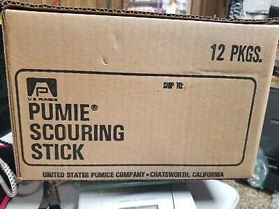 12 Pack Pumie Scouring Stick Pumice Heavy Duty Cleaning Hdw Household Bar Toilet