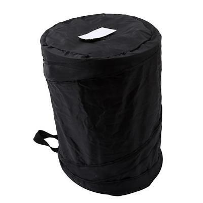Car Dust Bin Storage Bucket Trash Can Container Pops-Up Garbage Bag Foldable