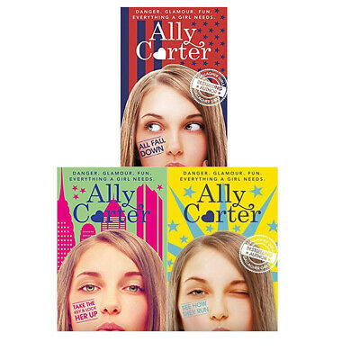 Ally Carter 3 Books Collection Set Embassy Row Series Take The Key And Lock Her