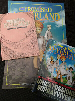 The Promised Neverland 1 + Notebook + Preview - Nuovo