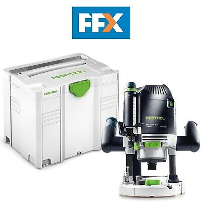 Festool 574395 OF2200 Eb-Set 240v Défonceuse 2200W en Systainer 4 T-Loc