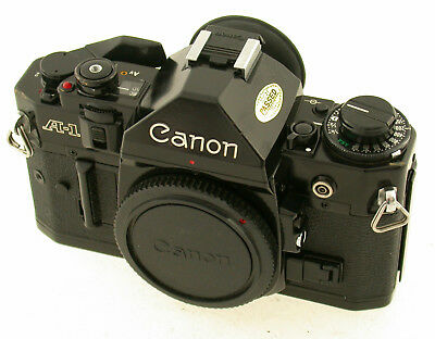 CANON A-1 body Gehäuse classic analog 35mm vintage Kult TOP + working läuft