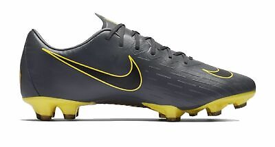 timeless design 460c7 7827a Nike Hommes Chaussures de Came Football Vapeur 12 Pro Fg Game Over Gris  Jaune