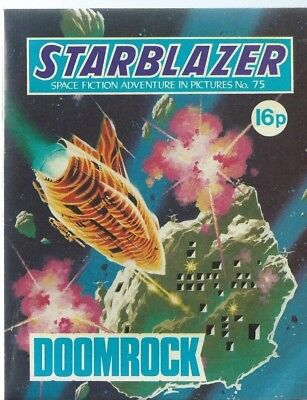 Doomrock,starblazer Space Fiction Adventure In Pictures,comic,no.75