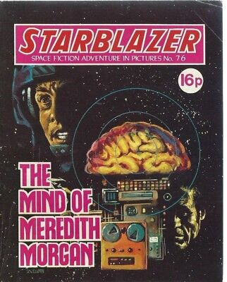The Mind Of Meredith Morgan,starblazer Space Fiction Adventure,comic,no.76