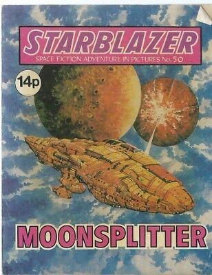 Moonsplitter,starblazer Space Fiction Adventure In Pictures,comic,no.50