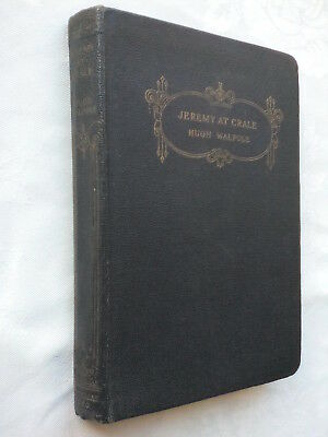 Hugh Walpole.jeremy At Crale.antique Faux Leather 1939,Ded,Brother Robin Walpole
