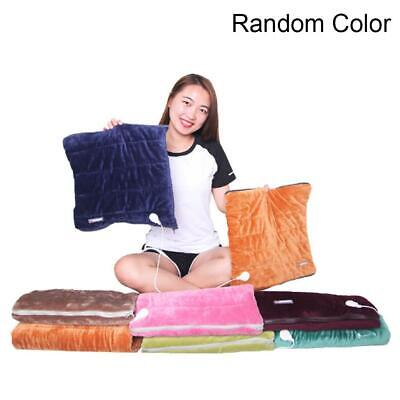 USB Heated Chair Pad Cushion Winter Heating Electric Blanket Seat Mat Foldable