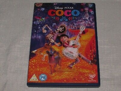Coco (Walt Disney, Mexico, animation, Day of the Dead DVD)