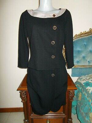Pianoforte di MAX MARA VINTAGE(made in Italy)Tailleur Jacket+Skirt Giacca+ 23c8caafd26