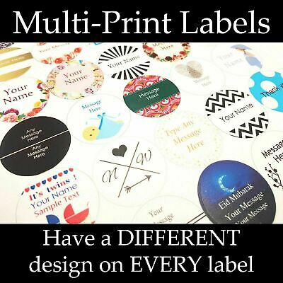 Personalised, custom Labels/stickers with Multi-print, Business/Company Stickers
