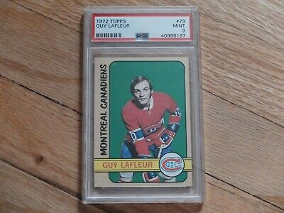 1972 Topps Guy Lafleur #79 PSA 9 MINT Montreal Canadiens