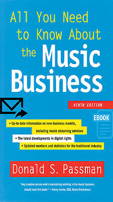 ALL You Need To Know About Music Business 9th Edition EB00K
