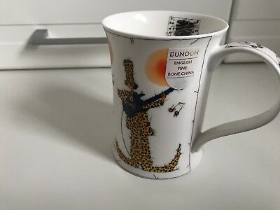 Dunoon Timescale Mug Very Rare By Michael Ferner Bone China