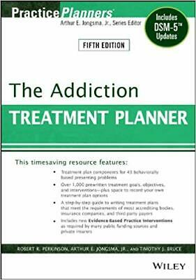 [PDF] The Addiction Treatment Planner: Includes DSM-5 Updates by Robert R. Perki