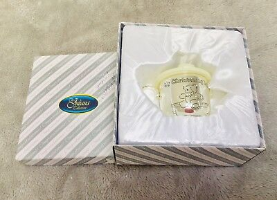 Juliana Collection My Christening Day Baby Kids Silver Plated Cup Beaker New Box