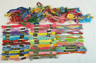Large lot of Embroidery Thread Coats DMC Lily Star + Perlelene & Perlesheen