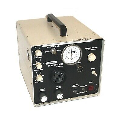 JH Emerson 2-CA In-Exsufflator Auto/Manual Respiratory Cough Assist Machine #2