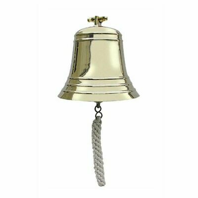 G4448: Ship's Bell with Wall Holder, Bell Heavy Variety, Brass Ø 20 cm 4 Kg