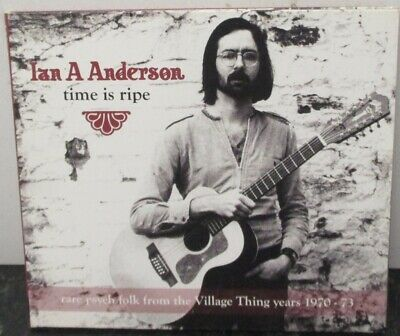 IAN A ANDERSON - Time Is Ripe ~ CD ALBUM