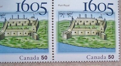 Canada - #2115 Pair one with EFO/Variety - 2005