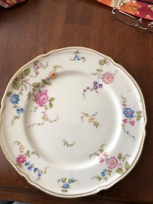 castleton china sunnyvale - 4 pieces. Dinner, salad, bred plates and saucer