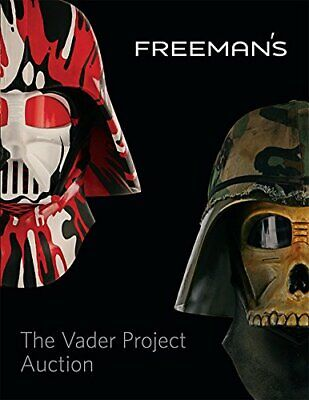 The Vader Project Auction Catalog: 100 Helmets/100 Artists NUEVO Brossura Libro
