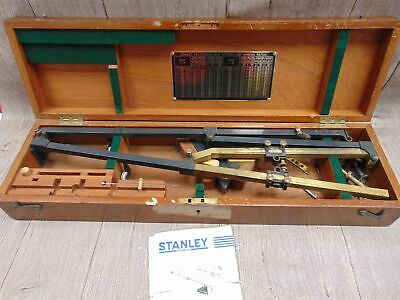 Antique/ Vintage STANLEY OF LONDON Pantograph 1401 For Cartography W/ Case - S81