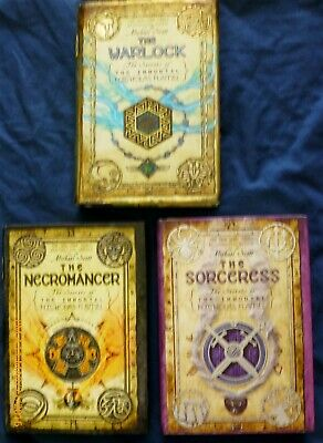 Sorceress, Warlock & Necromancer - Immortal Nicholas Flamel Set of 3 NEW HCDJ