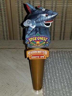 New! Lost Coast Brewery Sharkinator White IPA Beer Tap Handle - FREE SHIPPING!