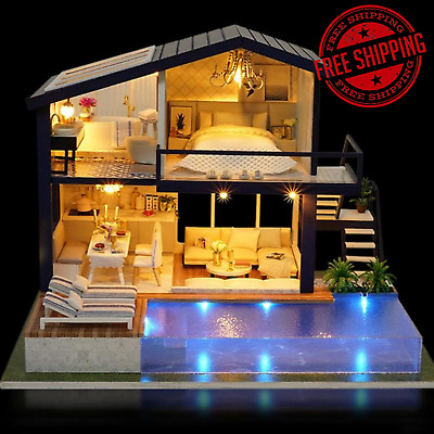 Lol Surprise Doll House With 85 Surprises Wooden Multi Story