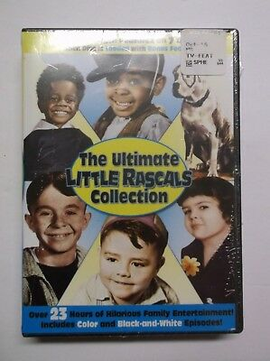 The Ultimate Little Rascals Collection (DVD, 2015, 7-Disc Set) BRAND NEW, Comedy