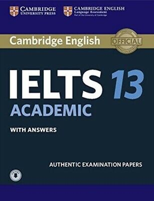 Cambridge Ielts 13 Academic Students Boo, 9781108553094