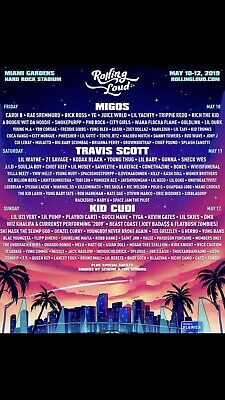 Rolling Loud Miami 2019 Tickets|3 day General Admission