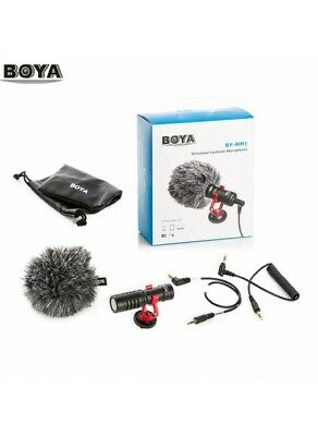 BOYA BY-MM1 Universal Cardiod Shotgun Microphone Nikon D3300 D3200 D5100 D5600