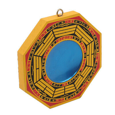 Hanging Decor Chinese Traditional Feng Shui Bagua Concave and Convex Mirror CB