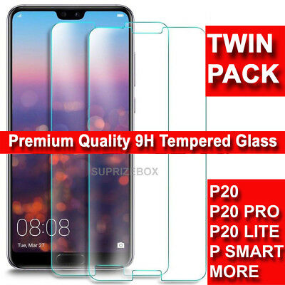 For Huawei P20 Pro Lite Protection Tempered Glass Screen Protector