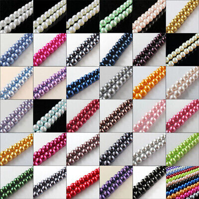 4MM 6MM 8MM 10MM Wholesale Natural Matte Charm Gemstone Round Spacer Loose Beads