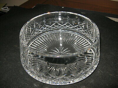 Vintage Waterford Made In Ireland Crystal Bowl Lismore Pattern