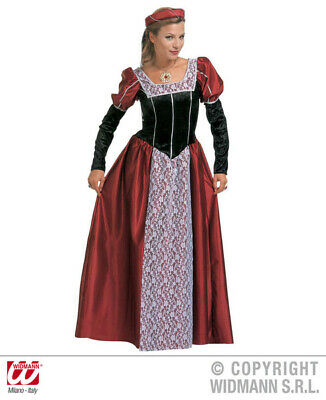 Ladies Womens Castle Beauty Costume for Middle Ages Medieval Fancy Dress