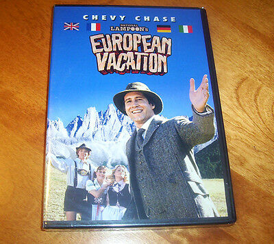 EUROPEAN VACATION Chevy Chase Beverly D'Angelo National Lampoon Comedy DVD NEW