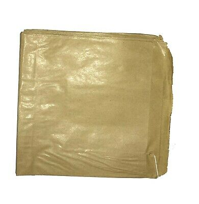 Brown Flat Paper Bag Kraft Strung Food Sweet Groceries Top Range Strong Bags